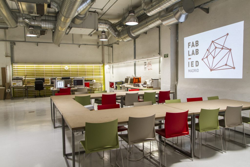 Aula Fab Lab IED Madrid